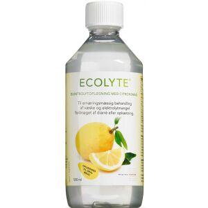 Køb Ecolyte citronsmag 500 ml online hos apotekeren.dk