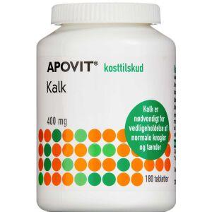 Køb Apovit kalk 180 stk. online hos apotekeren.dk