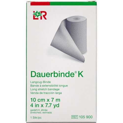 Køb Dauerbind K Lohmann 10 cm x 7 m 1 stk. online hos apotekeren.dk