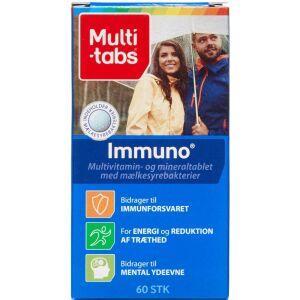 Køb Multi-tabs Immuno 3i1 60 stk. online hos apotekeren.dk
