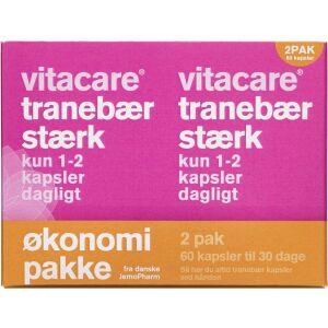 Køb VitaCare Tranebær stærk kapsler 60 stk. online hos apotekeren.dk
