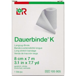 Køb Dauerbind K Lohmann 8 cm x 7 m 1 stk. online hos apotekeren.dk