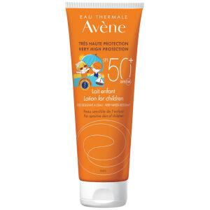 Køb Avene Sun Lotion Kids SPF50+ 250 ml online hos apotekeren.dk
