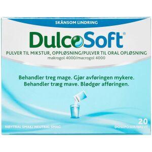 Køb DulcoSoft pulver til oral opløsning 20 stk. online hos apotekeren.dk