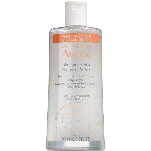 Køb Avene Micheller Lotion renser og fjerner makeup 500 ml online hos apotekeren.dk