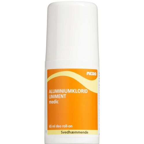 Køb Aluminiumklorid Liniment(medic) Deo Roll 65 ml online hos apotekeren.dk