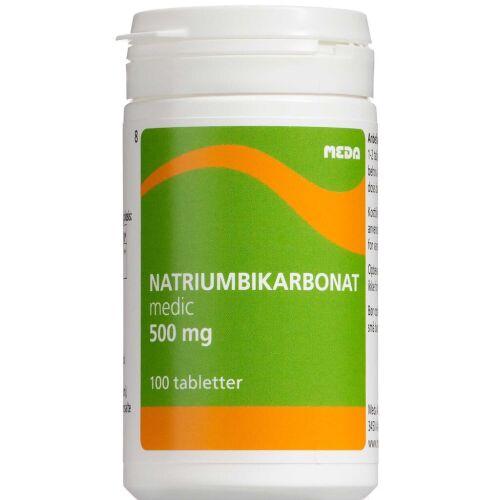 Køb Natriumkarbonat 500 mg 100 stk. online hos apotekeren.dk