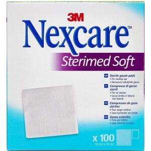 Køb Nexcare Sterimed Soft 10 cm x 10 cm 100 stk. online hos apotekeren.dk