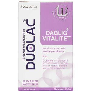Køb Duolac Daglig Vitalitet 30 stk. online hos apotekeren.dk