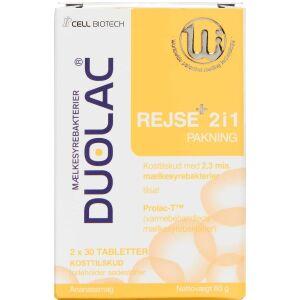 Køb Duolac Rejse+ 2i1 60 stk. online hos apotekeren.dk