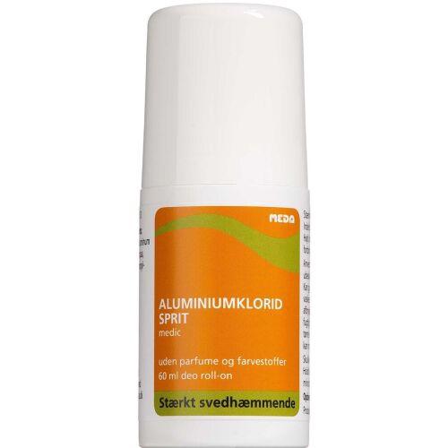Køb Aluminiumklorid Medic Sprit 25% Deo-Roll 60 ml online hos apotekeren.dk