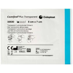 Køb Comfeel Plus sårbandage trasparent 5x7 cm 1 stk. online hos apotekeren.dk