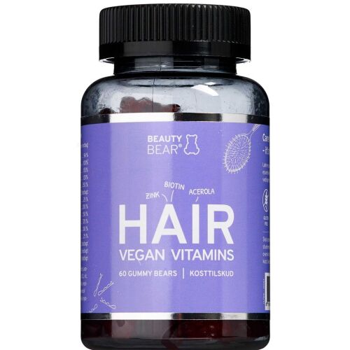 Køb Beauty Bear Hair vitamins 60 stk. online hos apotekeren.dk