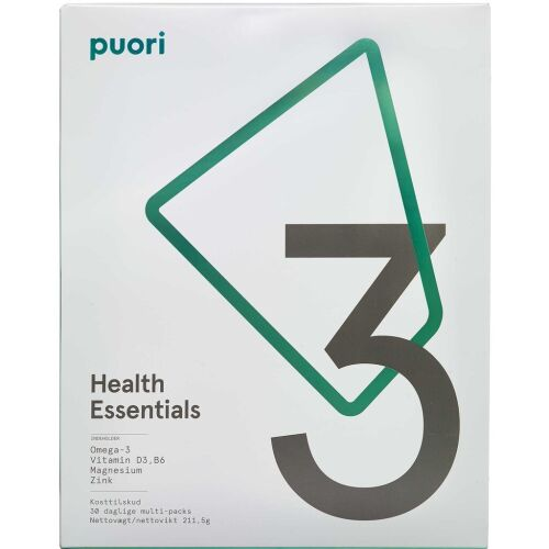 Køb Puori 3 Health Essentials kapsler 30 stk. online hos apotekeren.dk