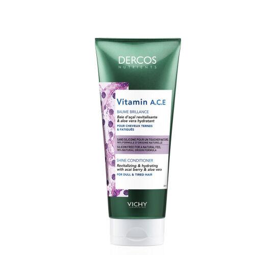 Køb Vichy Dercos Nutrients Vitamin A.C.E balsam 200 ml online hos apotekeren.dk