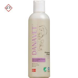 Køb DanaVet allergivenlig shampoo 250 ml online hos apotekeren.dk