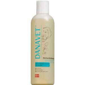 Køb DanaVet klorhexidin shampoo 250 ml online hos apotekeren.dk
