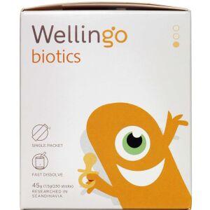 Køb Wellingo Biotics stage 1 Spædbørn 30 sticks online hos apotekeren.dk