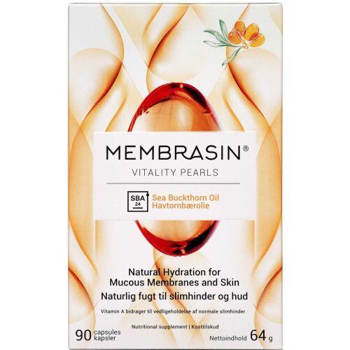 Køb Membrasin Vitality Pearls 90 stk. online hos apotekeren.dk