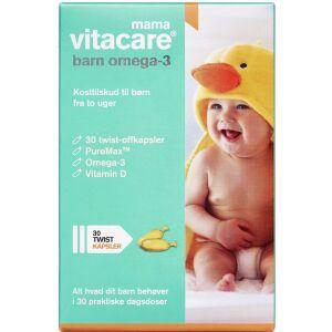 Køb Vitacare Mama barn omega-3 30 stk. online hos apotekeren.dk