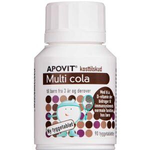 Køb Apovit Multi cola 90 stk. online hos apotekeren.dk