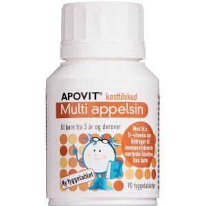Køb Apovit Multi appelsin 90 stk. online hos apotekeren.dk