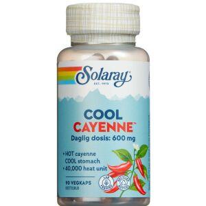 Køb Solaray Cool Cayenne kapsler 90 stk. online hos apotekeren.dk