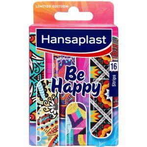 Køb Hansaplast Limited Edition Be Happy plaster 16 stk. online hos apotekeren.dk