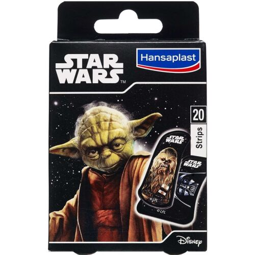 Køb Hansaplast Disney Star Wars Junior plaster 20 stk. online hos apotekeren.dk