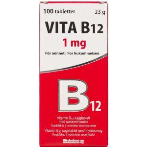 Køb Vita B12 1 mg 30 stk. online hos apotekeren.dk