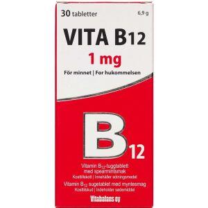 Køb Vita B12 1 mg 100 stk. online hos apotekeren.dk