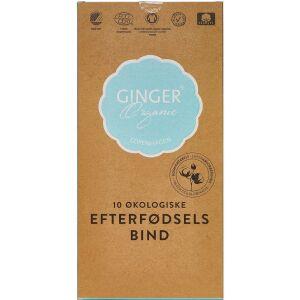 Køb GingerOrganic Efterfødselsbind 10 stk. online hos apotekeren.dk