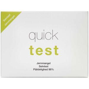 Køb Quicktest Jernmangel Selvtest 1 stk online hos apotekeren.dk
