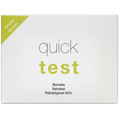 Køb Quicktest Borrelia Selvtest 1 stk online hos apotekeren.dk