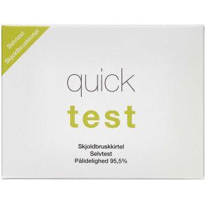 Køb Quicktest Skjoldbruskkirtel 1 stk online hos apotekeren.dk