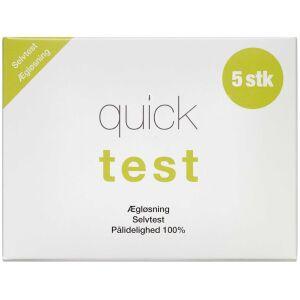 Køb Quicktest Ægløsning 5 stk. online hos apotekeren.dk
