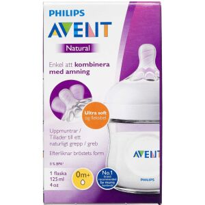 Køb Philips Avent Natural sutteflaske 125 ml online hos apotekeren.dk