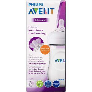 Køb Philips Avent sutteflaske 260 ml V2 1 stk. online hos apotekeren.dk