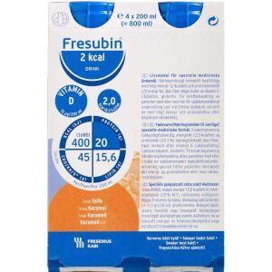 Køb Fresubin 2 kcal Drink Karamel 4 x 200 ml online hos apotekeren.dk