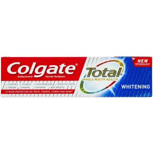 Køb Colgate Total Whitening tandpasta 75 ml online hos apotekeren.dk