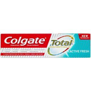 Køb Colgate Total Active Fresh tandpasta 75 ml online hos apotekeren.dk