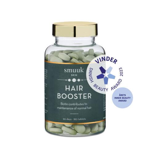 Køb Smuuk Skin Hair Booster 180 stk. online hos apotekeren.dk