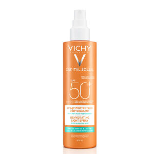Køb Vichy Capital Soleil Beach Protect Spray SPF 50+ 200 ml online hos apotekeren.dk