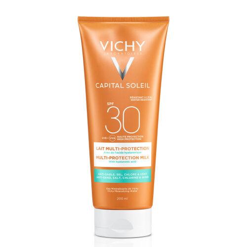 Køb Vichy Capital Soleil Beach Protect creme SPF30 200 ml online hos apotekeren.dk