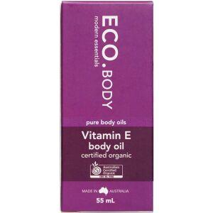 Køb ECO. Vitamin E Body Oil 55 ml online hos apotekeren.dk