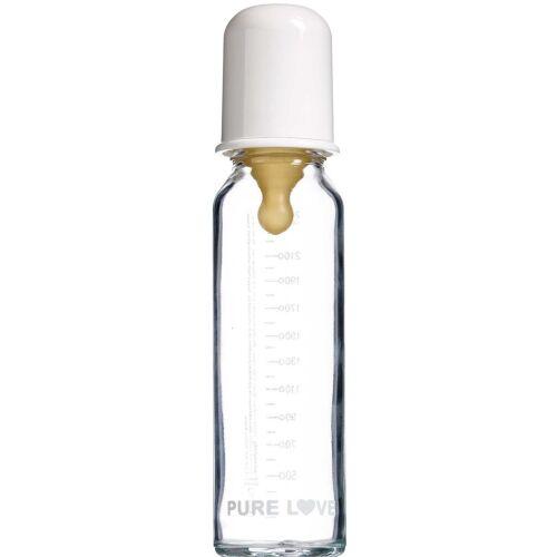 Køb Purelove Sutteflaske, glass 240 ml online hos apotekeren.dk