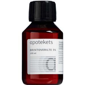 Køb Apotekets Brintoverilte 3% 100 ml online hos apotekeren.dk
