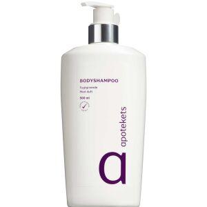Køb Apotekets Bodyshampoo lilla 500 ml online hos apotekeren.dk