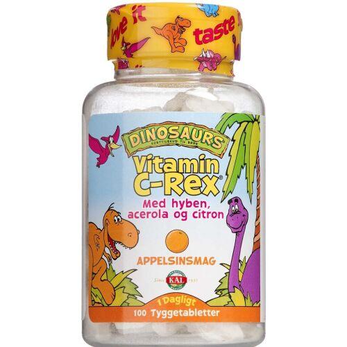 Køb KAL Vitamin C-Rex 100 stk. online hos apotekeren.dk