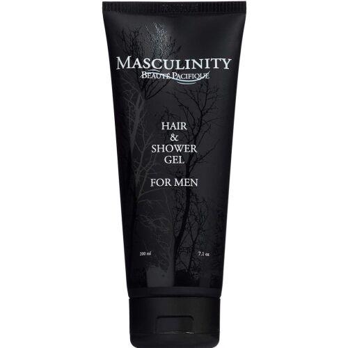 Køb Beauté Pacifique Masculinity Hair & Showergel 200 ml online hos apotekeren.dk